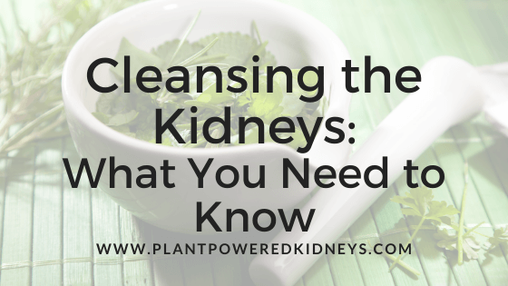 Cleansing the Kidneys: What You Need to Know