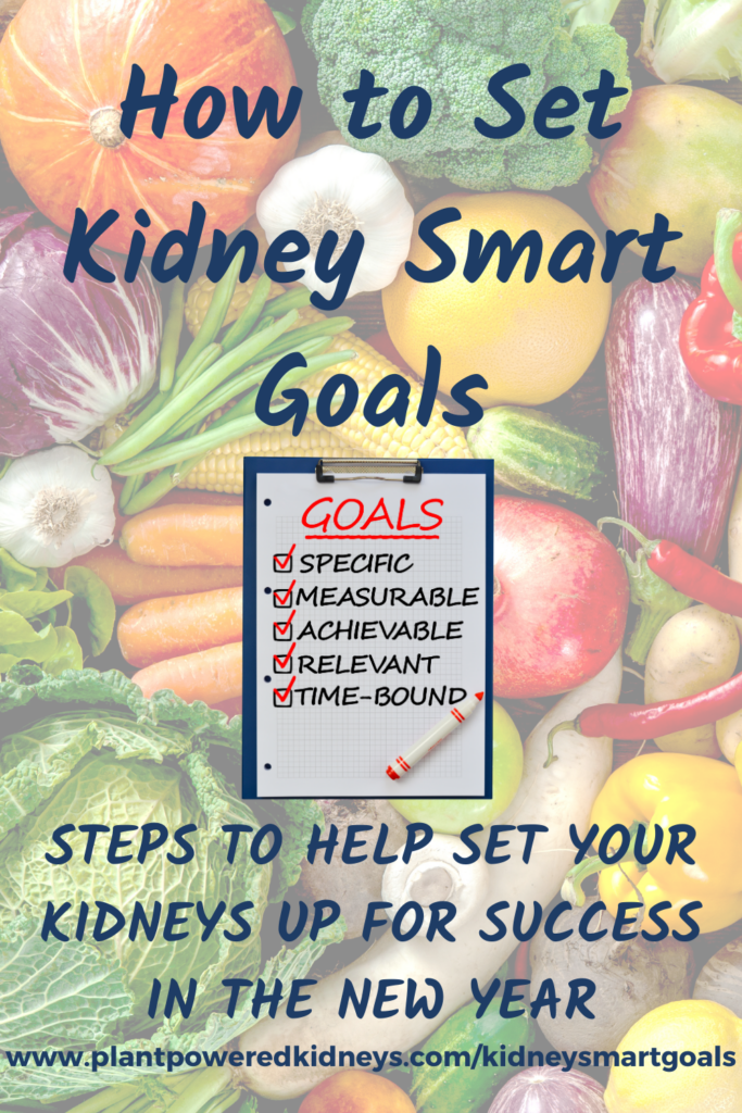 Save this pin for when you want to set your next kidney health goal!