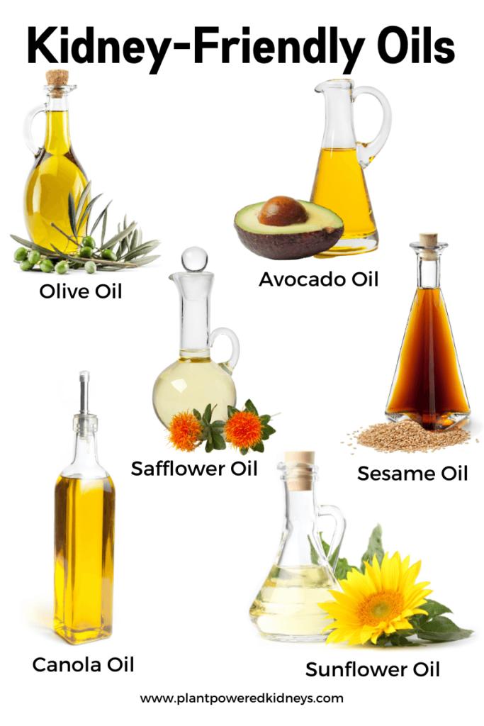 Kidney-Friendly Oils Keto diet for kidney disease