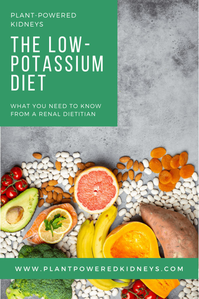 Low-Potassium Diet: what you need to know from a renal dietitian