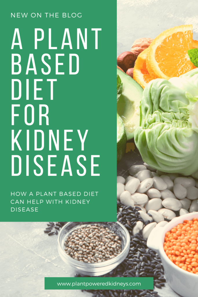 Pin this for later for a reminder of why a plant based diet for kidney disease is so important!