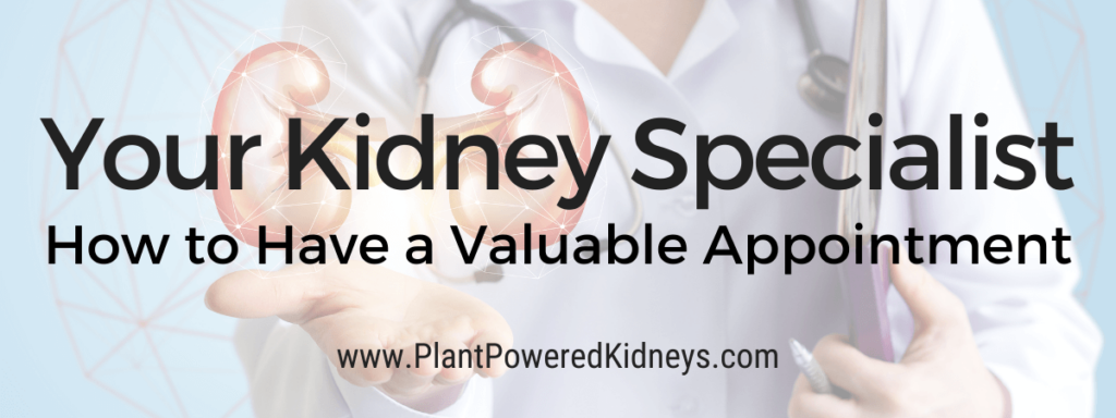 Your Kidney Specialist: How to Have a Valuable Appointment